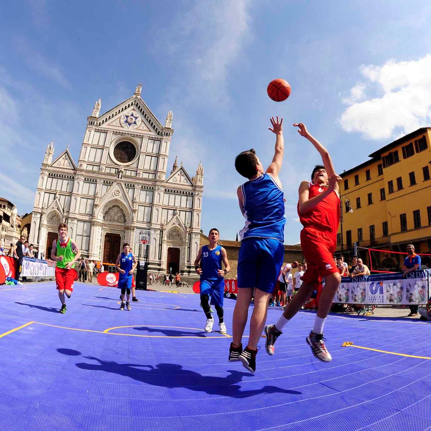CSI DAY Basket Piazza Santa Croce FIRENZE